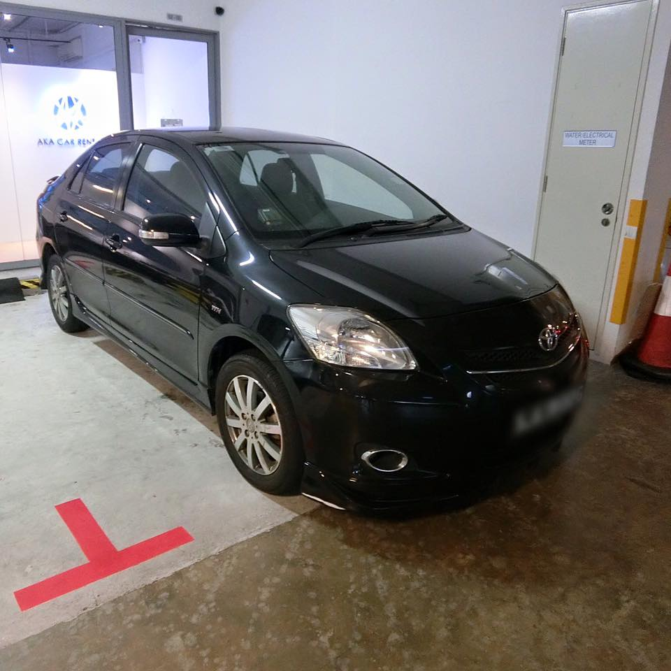 car rental in singapore p-plate