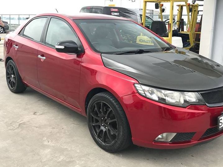 KIA Cerato Forte 1.6 AT SX [Candy Red] (For Rent)