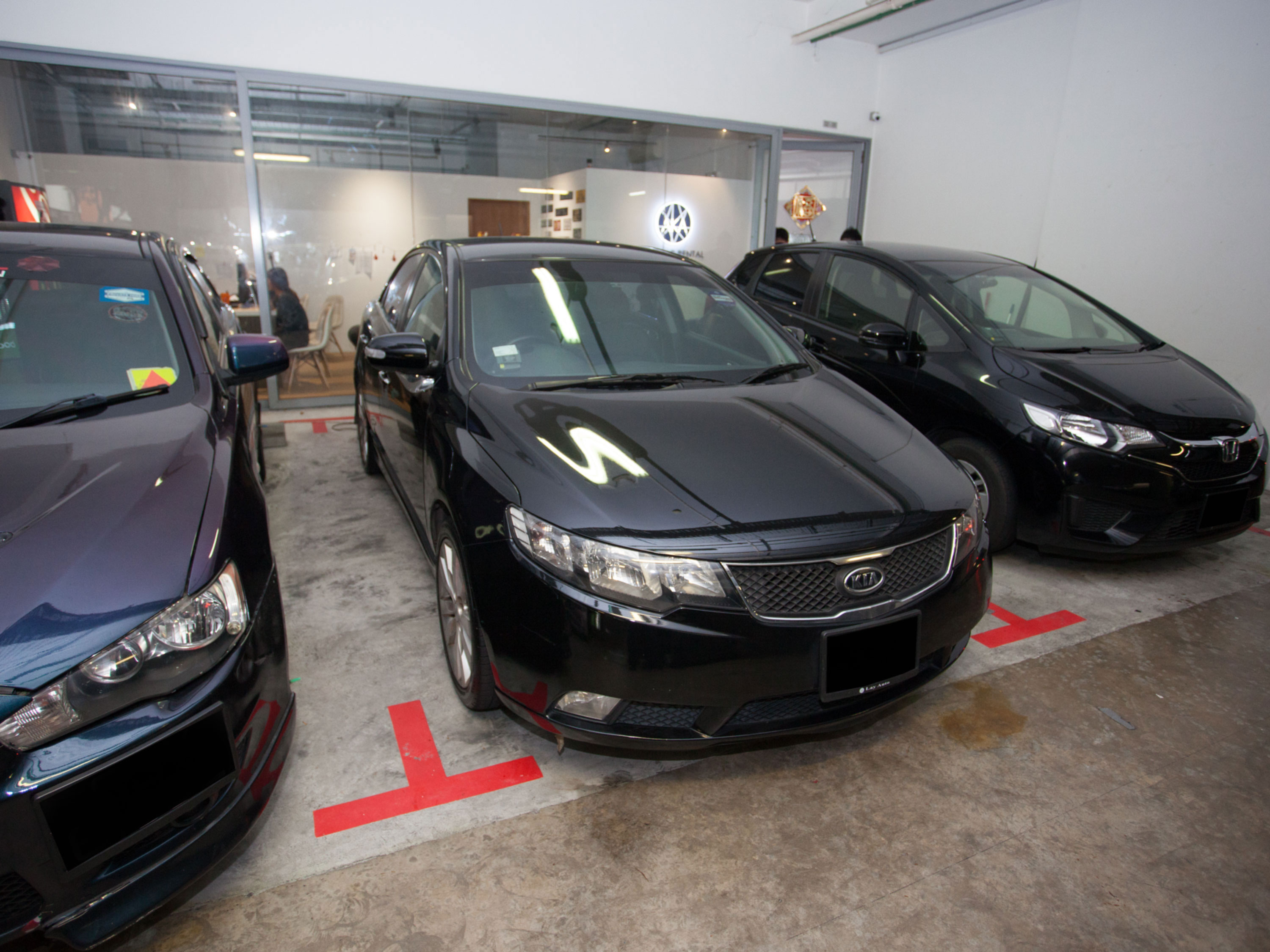 KIA Cerato Forte 1.6A SX [Black] (For Rent)