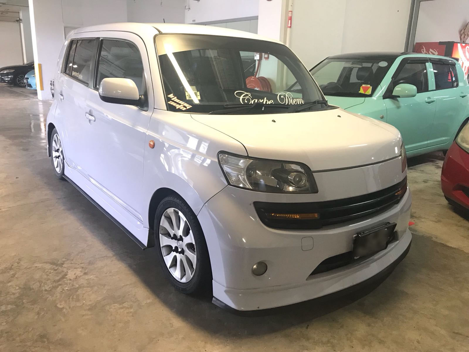 Daihatsu Materia 1.5L [White] (For Rent)