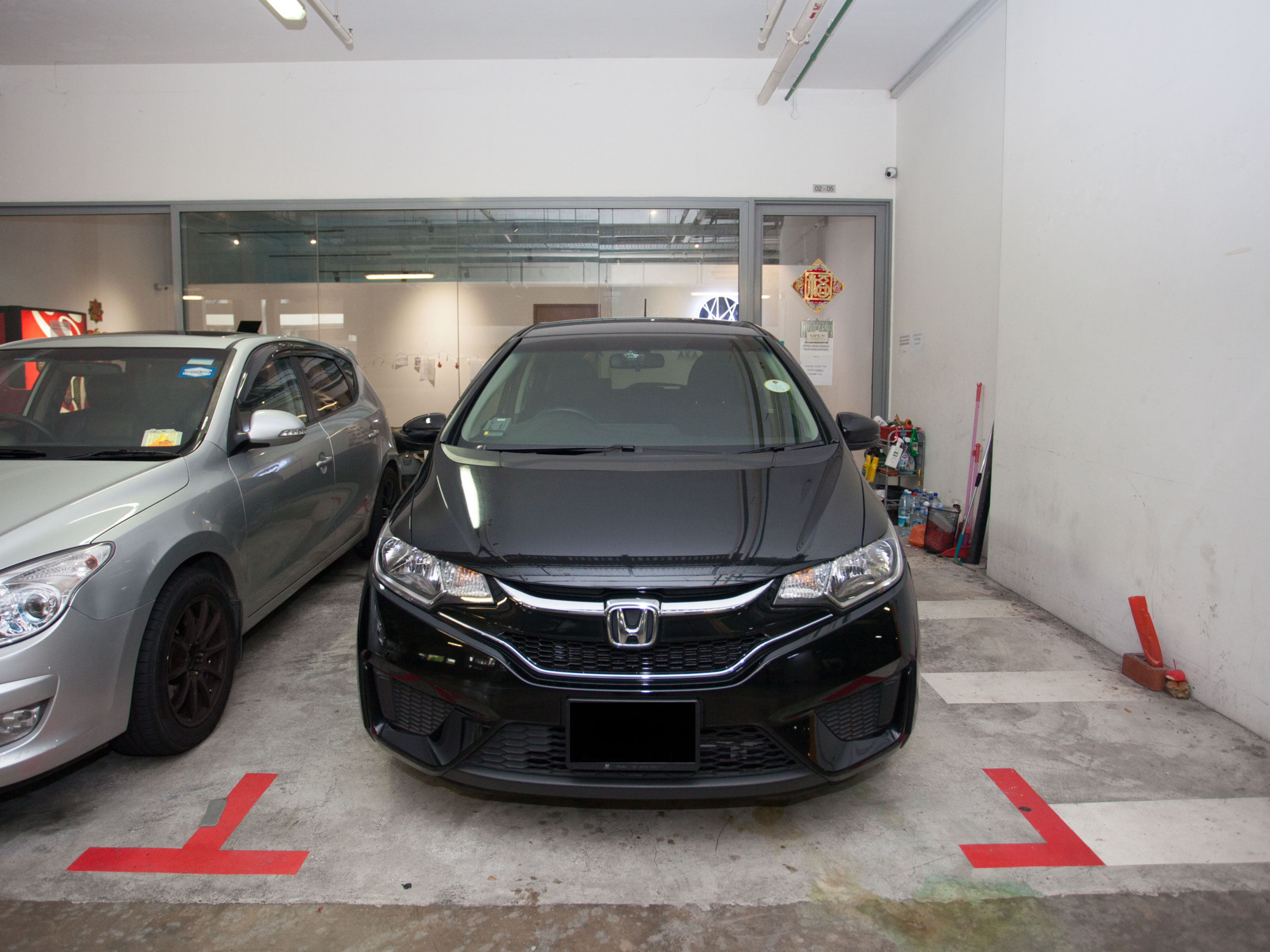 Honda Fit 1.3 GF [Black] (For Rent)