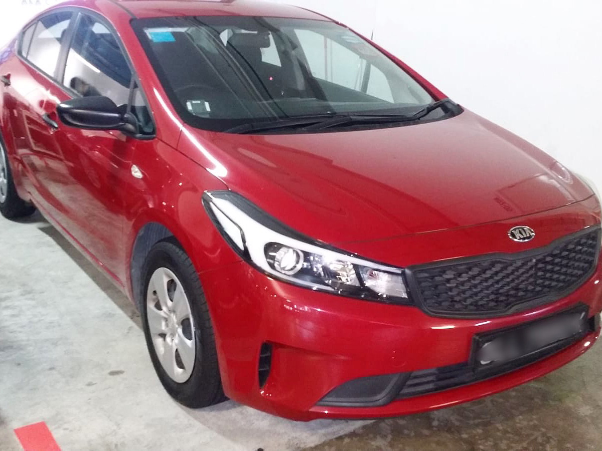 Kia K3 1.6A [Red] (For Rent)