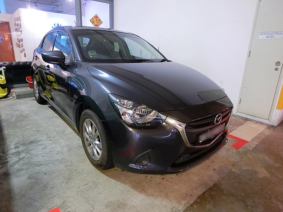 Mazda 2 [Grey] (For Rent)