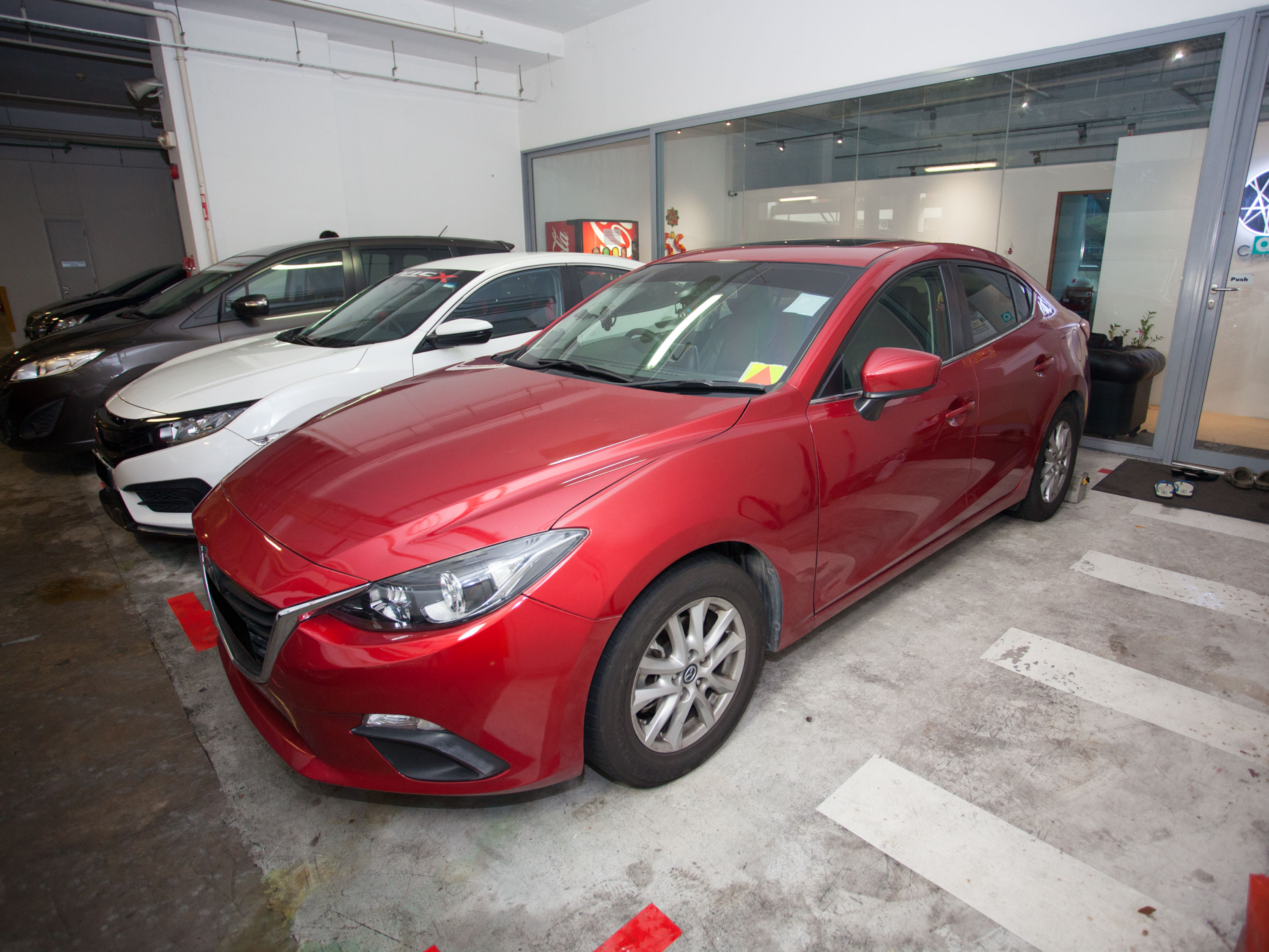 Mazda 3 1.5L SP [Red] (For Rent)