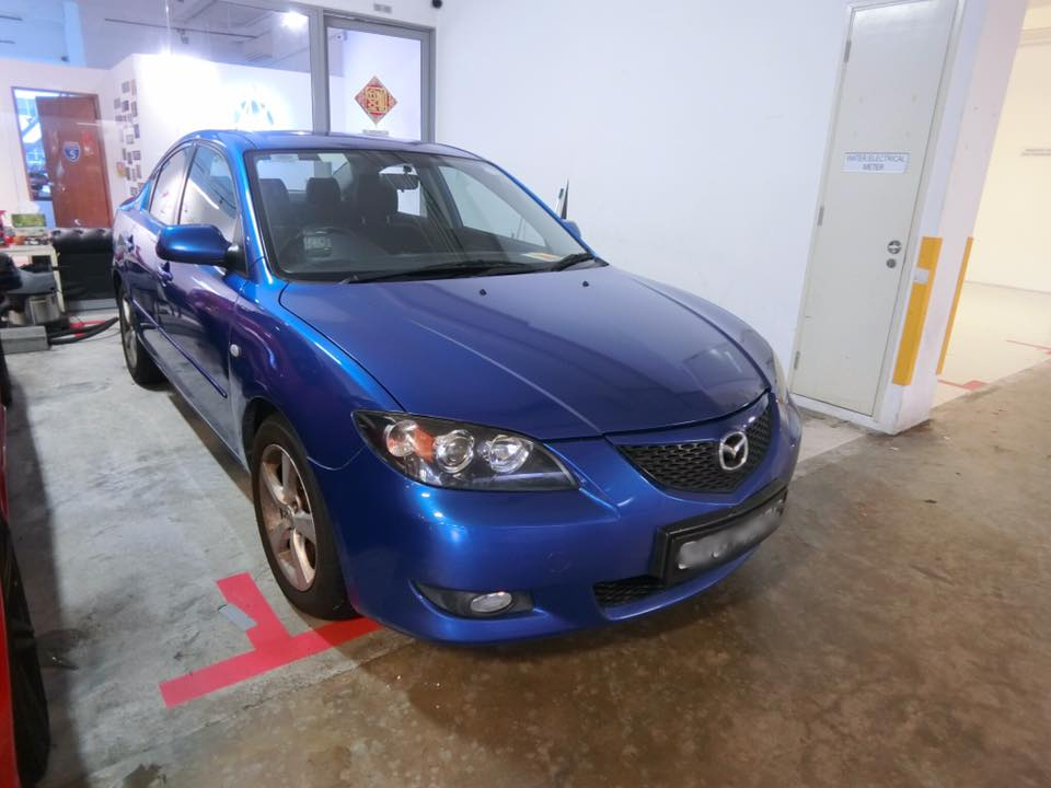 Mazda 3 LUX [Blue] (For Rent)