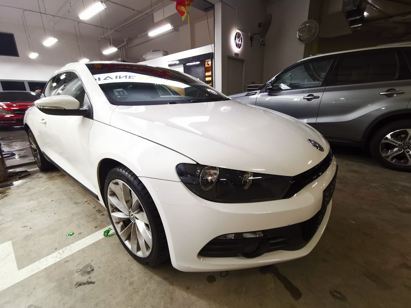 Volkswagen Scirocco 1 4l At Tsi White For Sale Mcf Marketplace