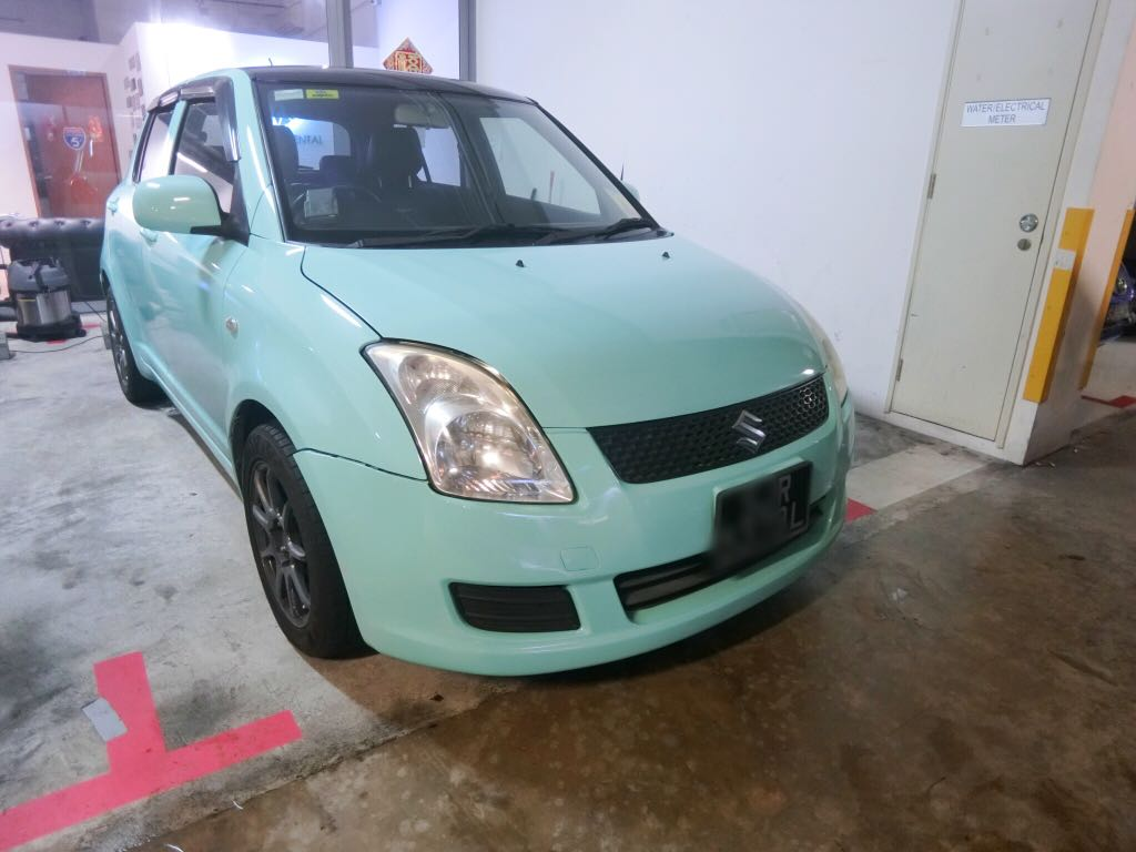 Suzuki Swift 1.3 AT [Tiffany Blue] (For Rent)