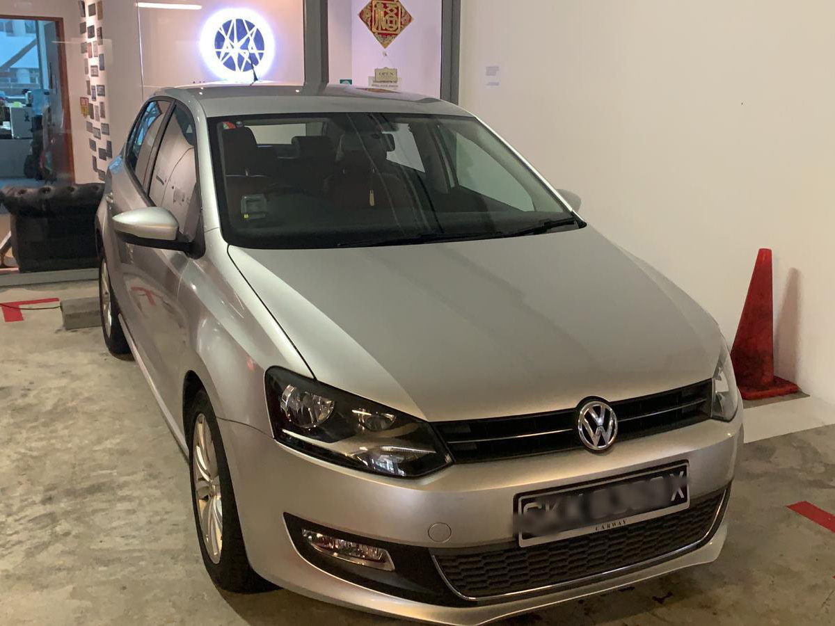 Volkswagen Polo [Grey] (For Rent)