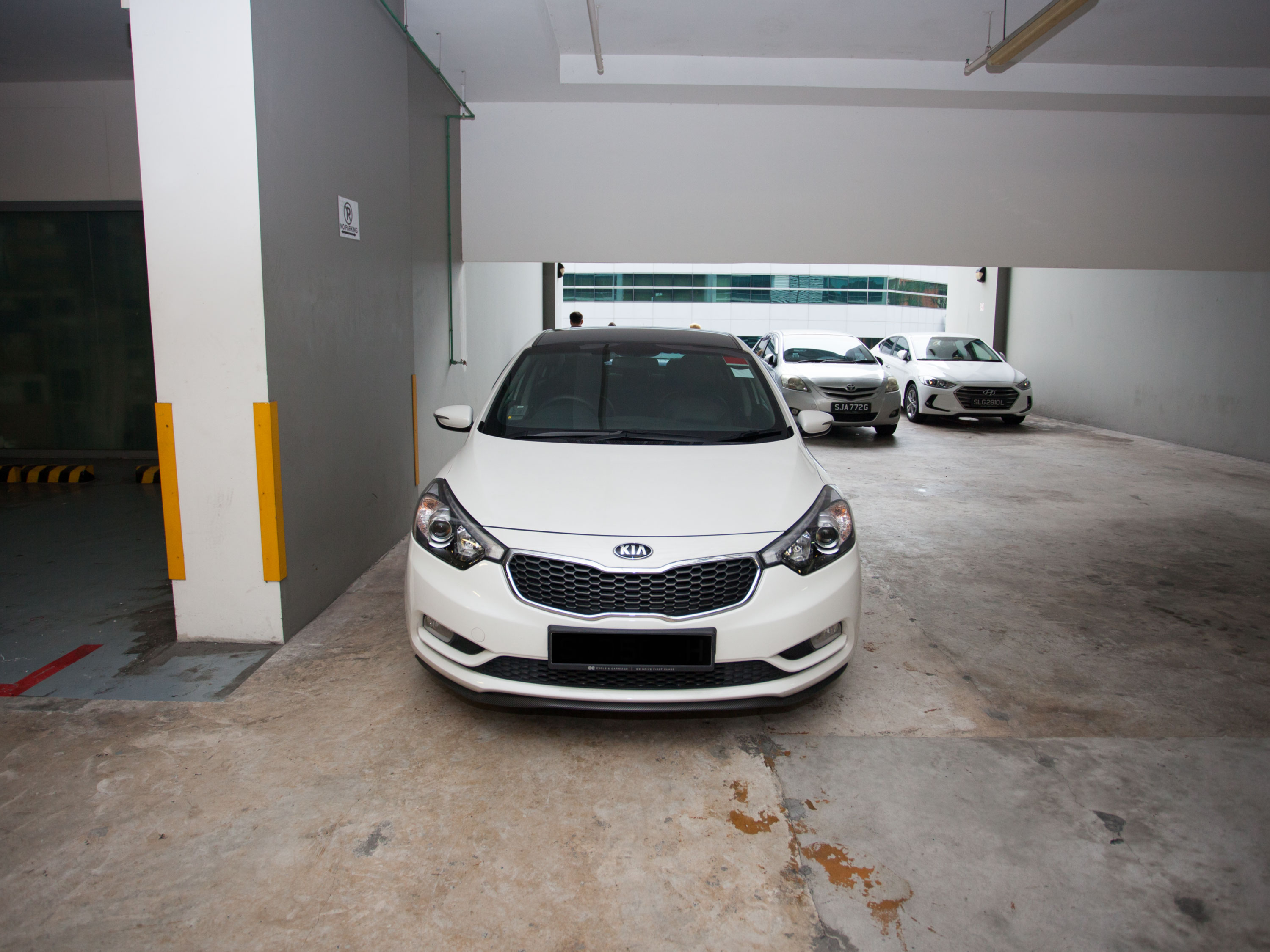 Kia K3 1.6A EX [White] (For Rent)