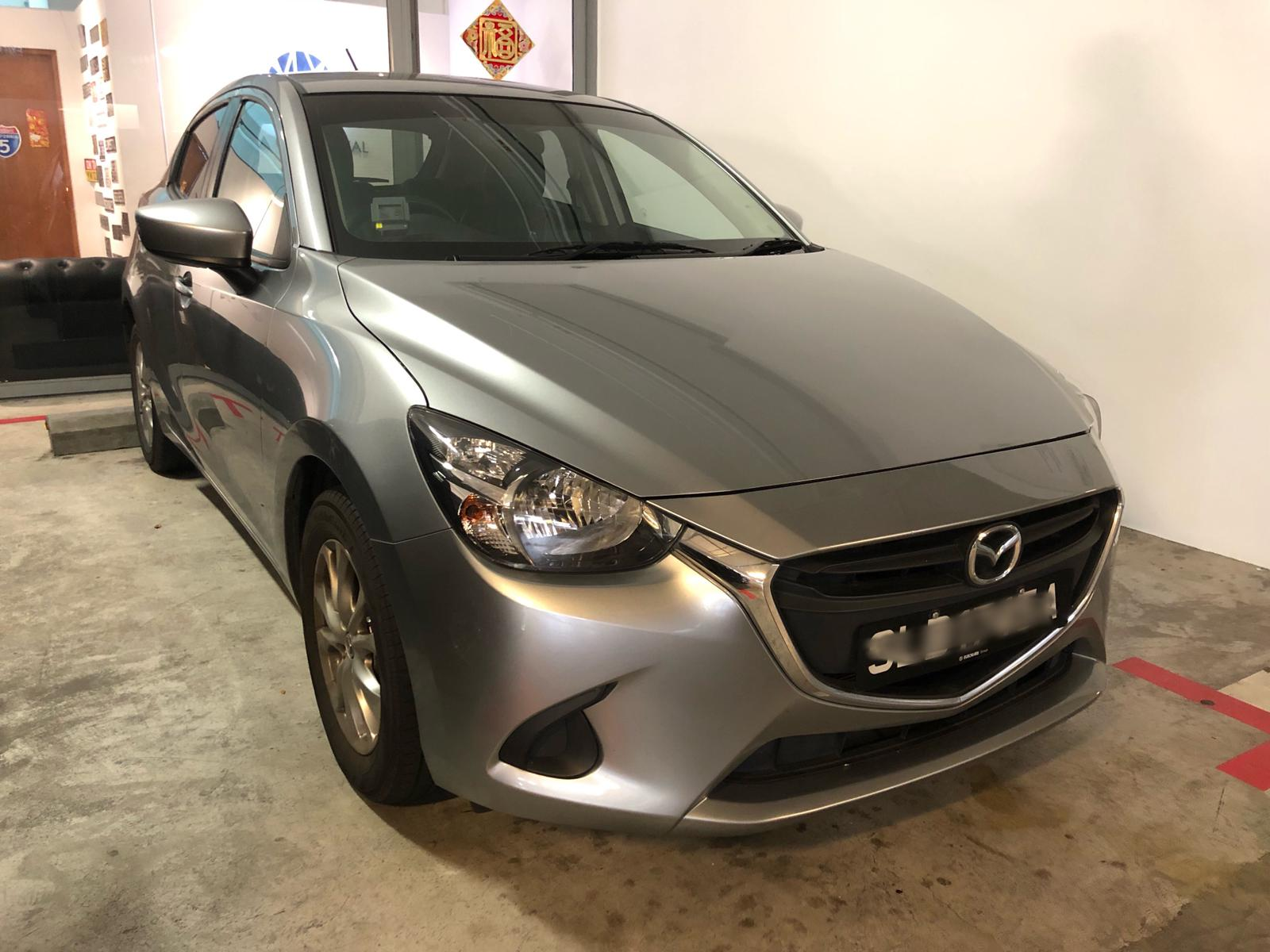 Mazda 2 1.5L SP [Silver] (For Rent)