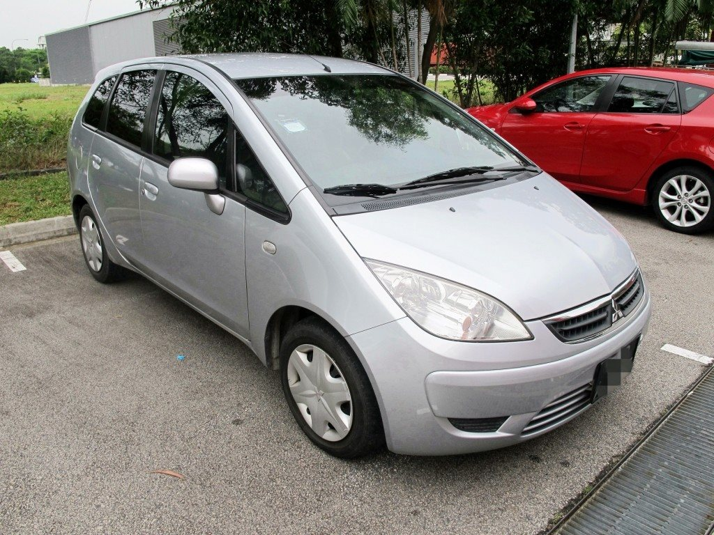 Mitsubishi Colt Plus Hatchback [Silver] (For Lease)