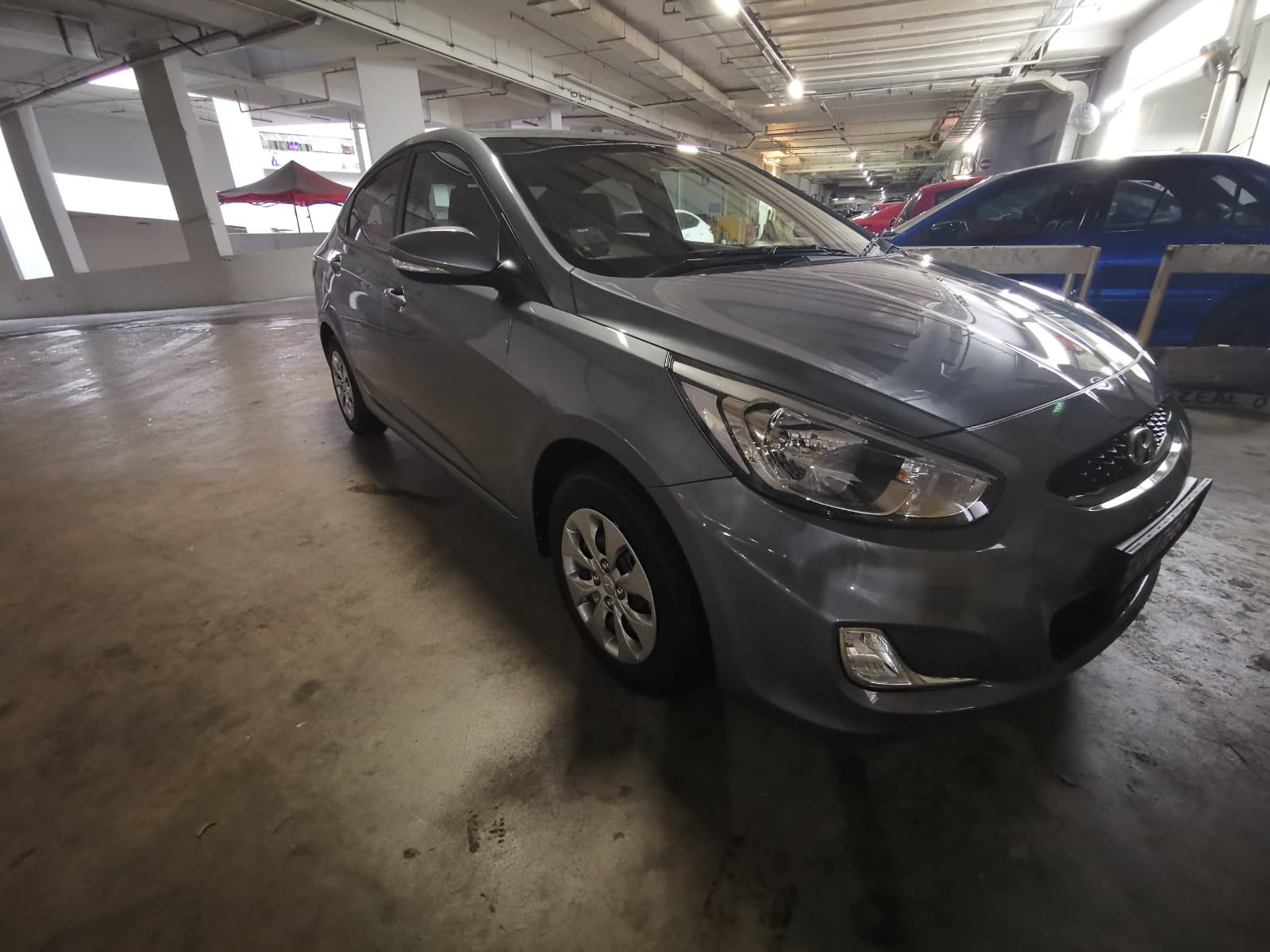 Hyundai Accent [Silver] (For Rent)