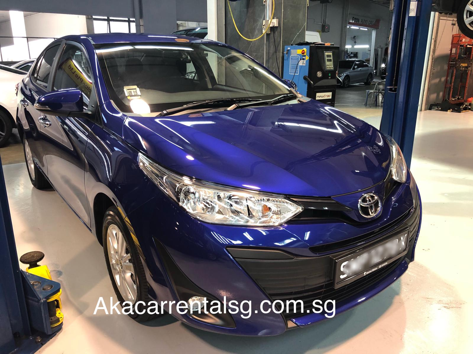 Toyota Vios 2019  [Blue] (For Rent)