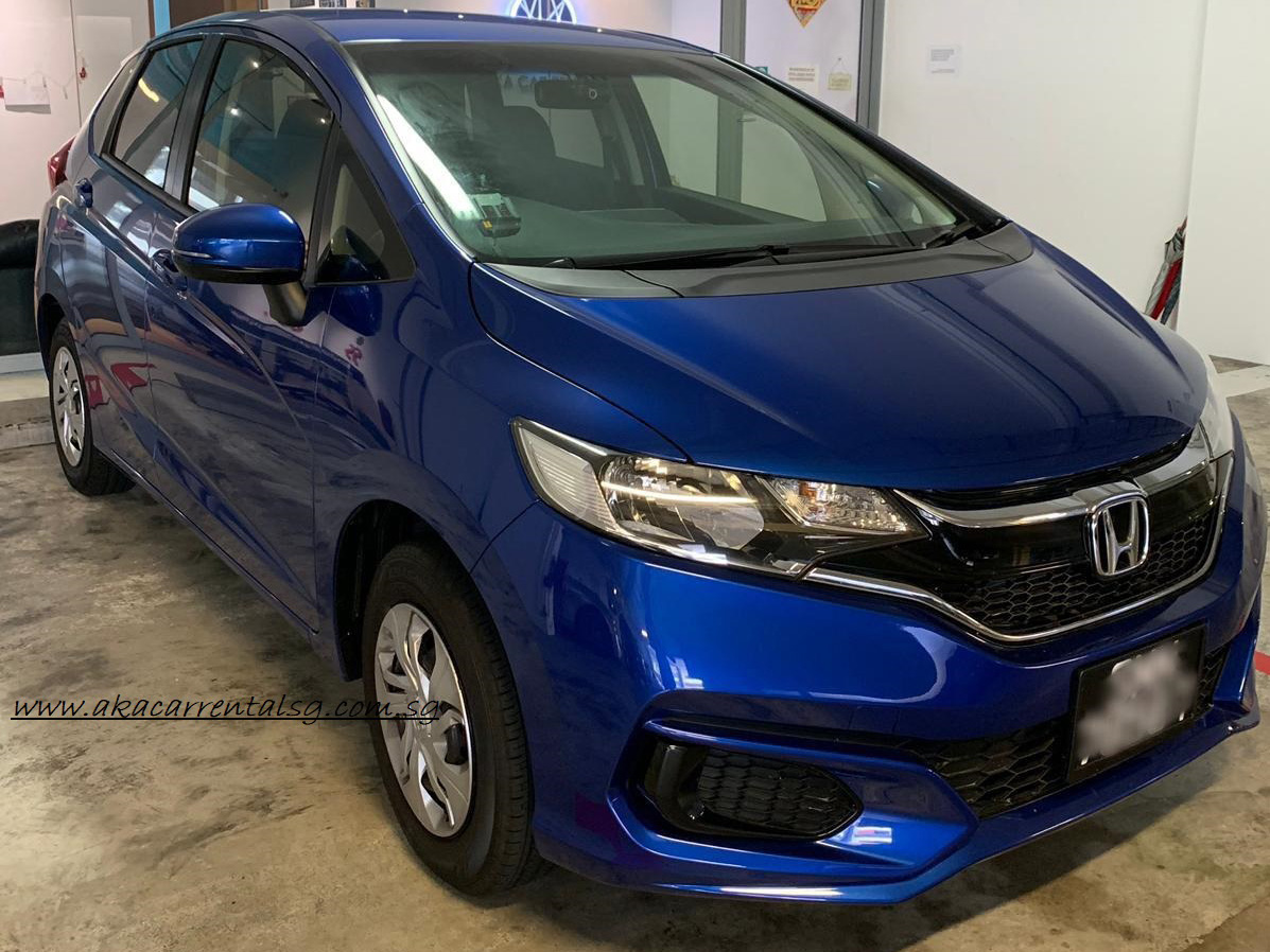 Honda Fit 2019 [Blue] (For Rent)