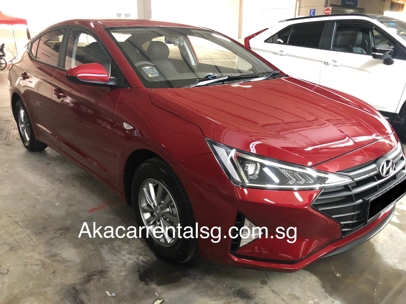 Hyundai AD Avante 1.6 GLS [Red] (For Rent)