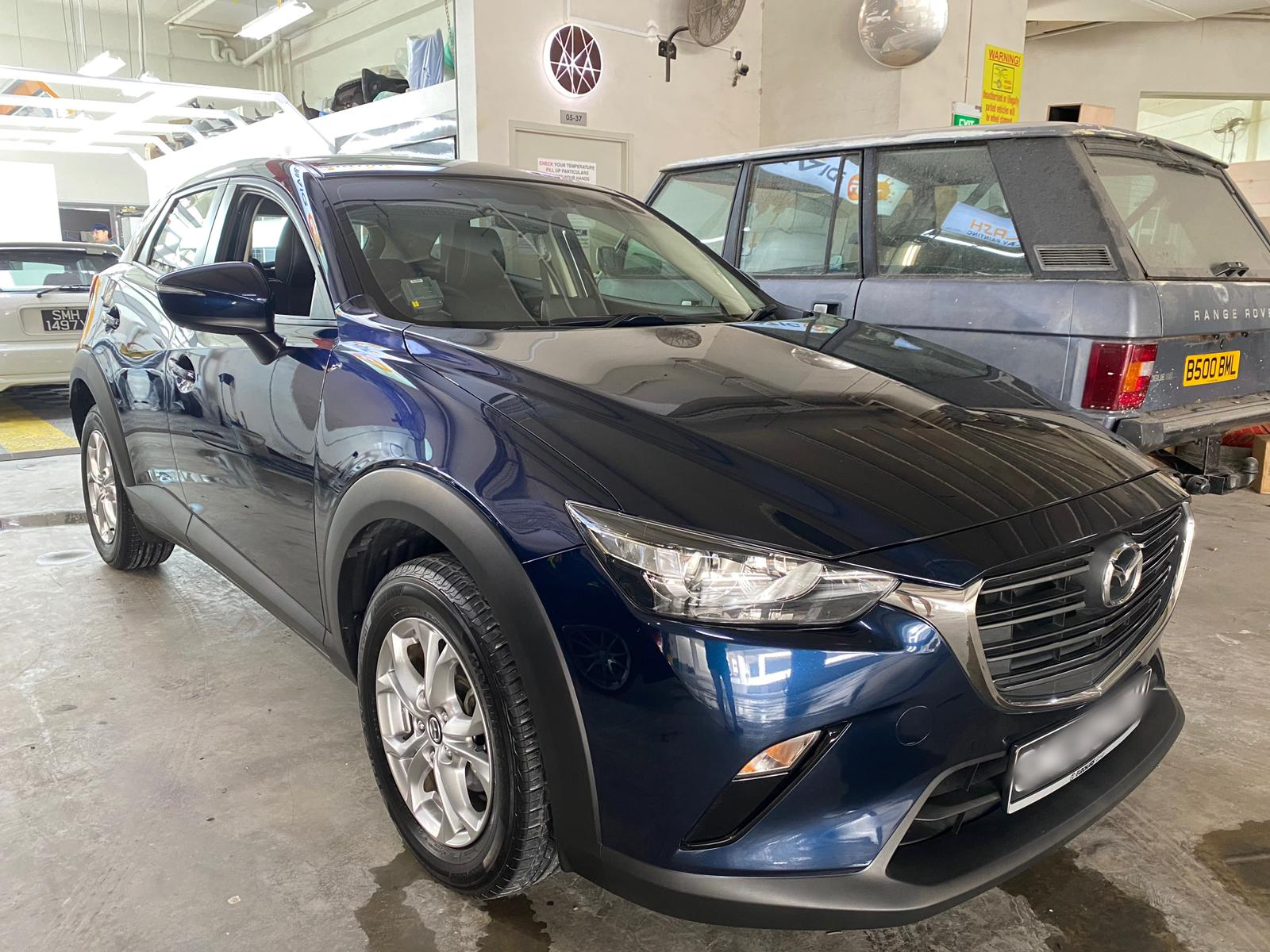 Mazda CX3 2L Blue (For Rent)